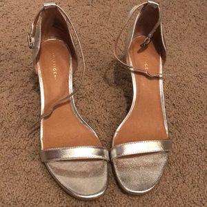 Halogen strappy heels